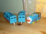 Паровоз Doraemon с вагонами Б/У