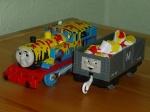 Паровоз Томас в краске с вагоном Б/У