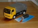 Машинка мусоровоз с мотором #2 Б/У