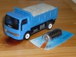 Машинка грузовик с мотором Б/У