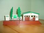 """Станция """"Вэлсфорт"""" с деревьями Б/У"""