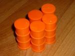 Груз оранжевые бочки Б/У