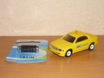 Машинка такси с мотором Б/У