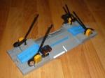 Железнодорожный переезд с мигающими семафорами Б/У