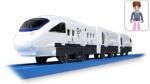 Пассажирский поезд с человечком НОВЫЙ